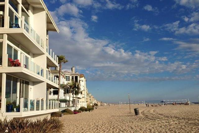 Strandhäuser in Santa Monica