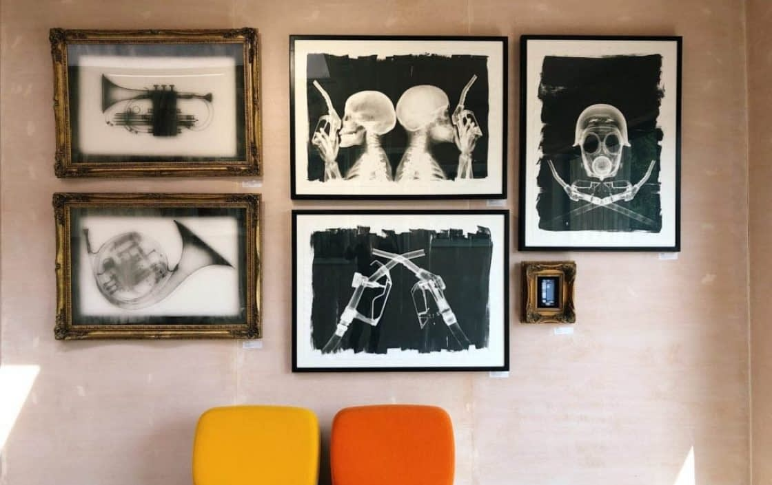 Nick Veasey Art in his Process Gallery