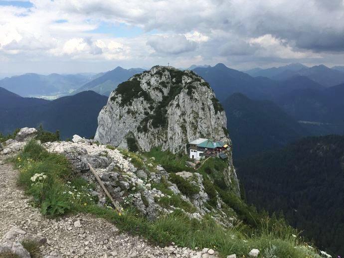Blick auf den Gipfel des Buchstein