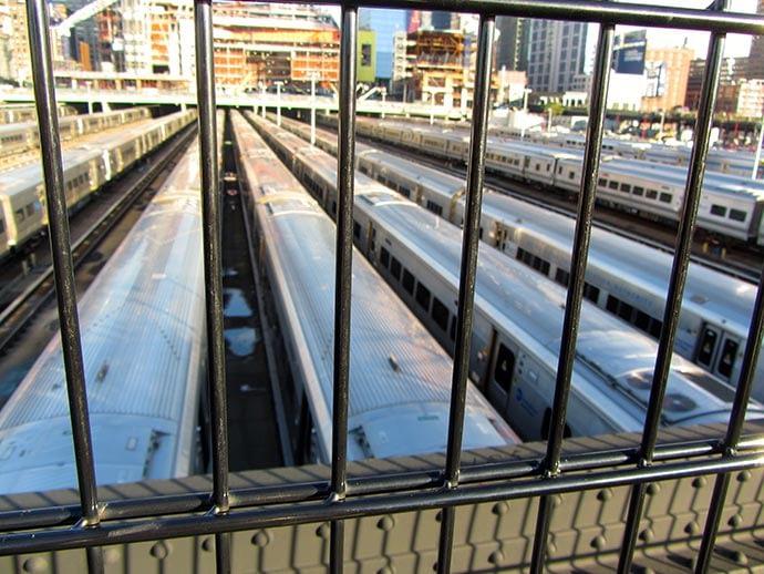 Subwaybahnhof in New York
