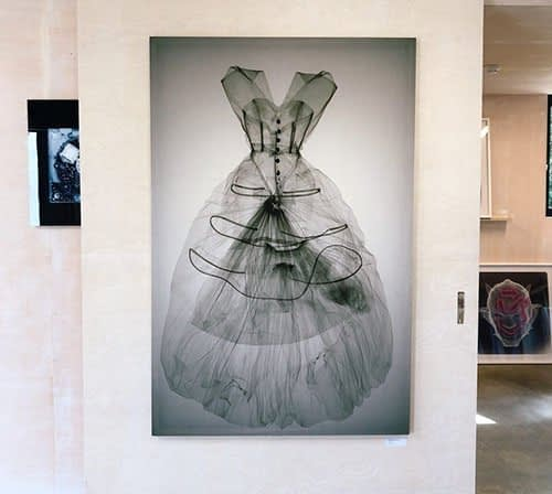 Balenciaga Dress under X-Ray