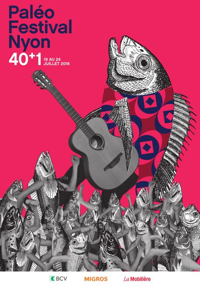 Festival-Liebe im Juli Paléo