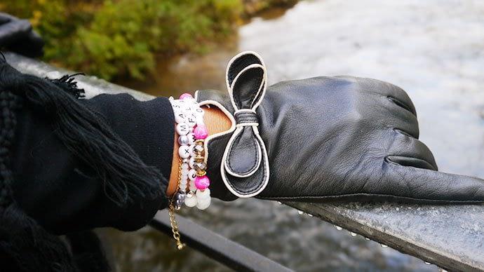 Individuelle Armbänder von Silberbrezel