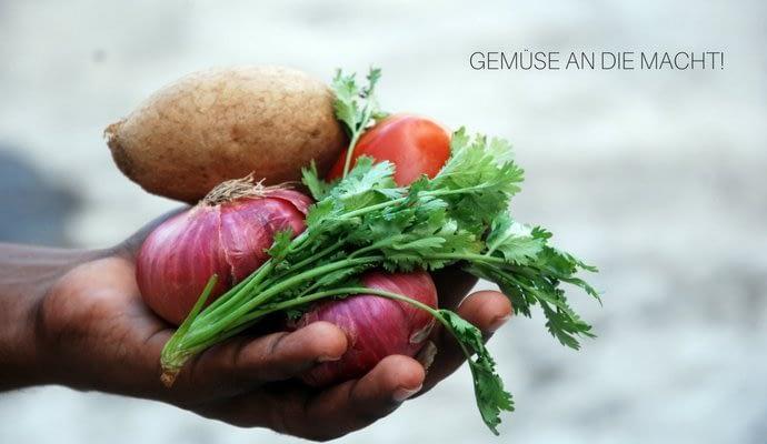 Gemüseeinkauf